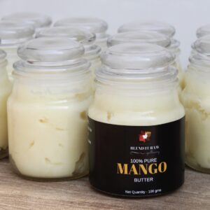 Blend It Raw Apothecary Mango Butter, Organic Body Butter, Mango Body Butter, Organic Mango Butter