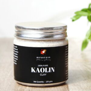 pure kaolin clay , blend it raw apothecary , blend it raw beauty