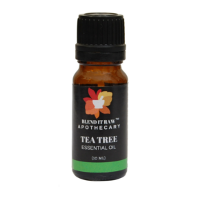 tea tree essential oil, blend it raw apothecary, blend it raw beauty, steam distilled essential oils