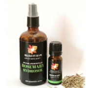 blend it raw beauty, blend it raw apothecary, rosemary hydrosol, rosemary essential oil