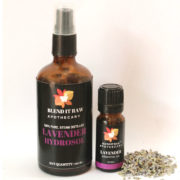 blend it raw beauty, blend it raw apothecary, lavender hydrosol, lavender essential oil