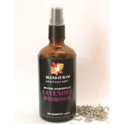lavender hydrosol, organic lavender hydrosol, blend it raw beauty, blend it raw apothecary