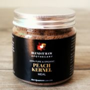 Organic Peach Kernel Meal – Blend It Raw Apothecary