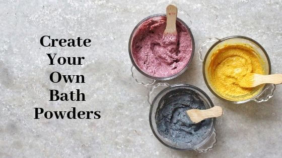 DIY Bath powders, DIY Ubtans, Bath Powders recipes