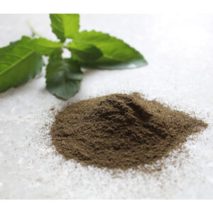 tulsi powder, organic tulsi for skin, tulsi for acne, blend it raw beauty, blend it raw apothecary