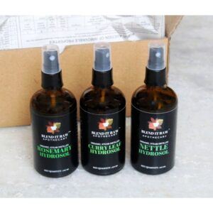 hydrosols for hair, blend it raw bauty, blend it raw apothecary