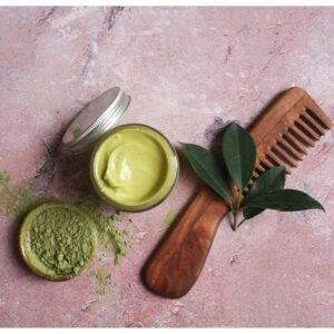 diy moringa hair mask, moringa hair mask, moringa for hair, blend it raw beauty, blend it raw apothecary